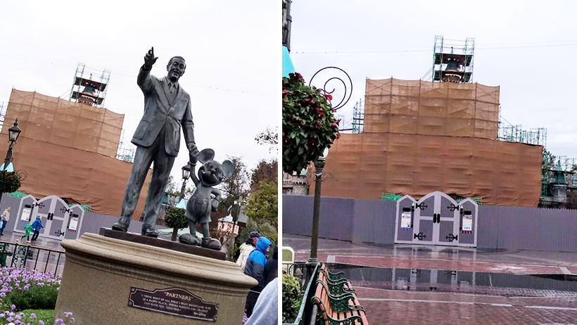 Disneyland repairs anaheim