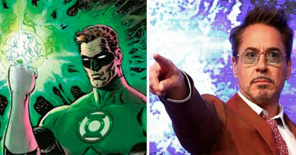 Judas nivel: Robert Downey Jr. dejaría Marvel para encarnar a Linterna Verde para DC