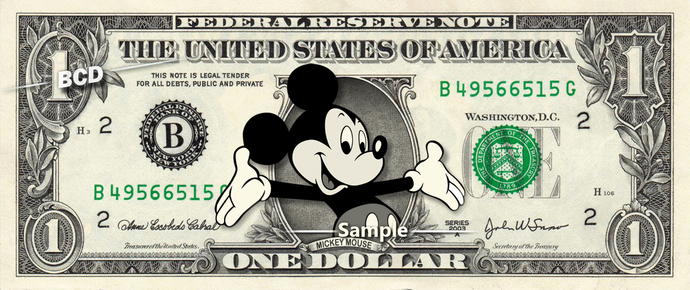 Mickey Mouse Dollar