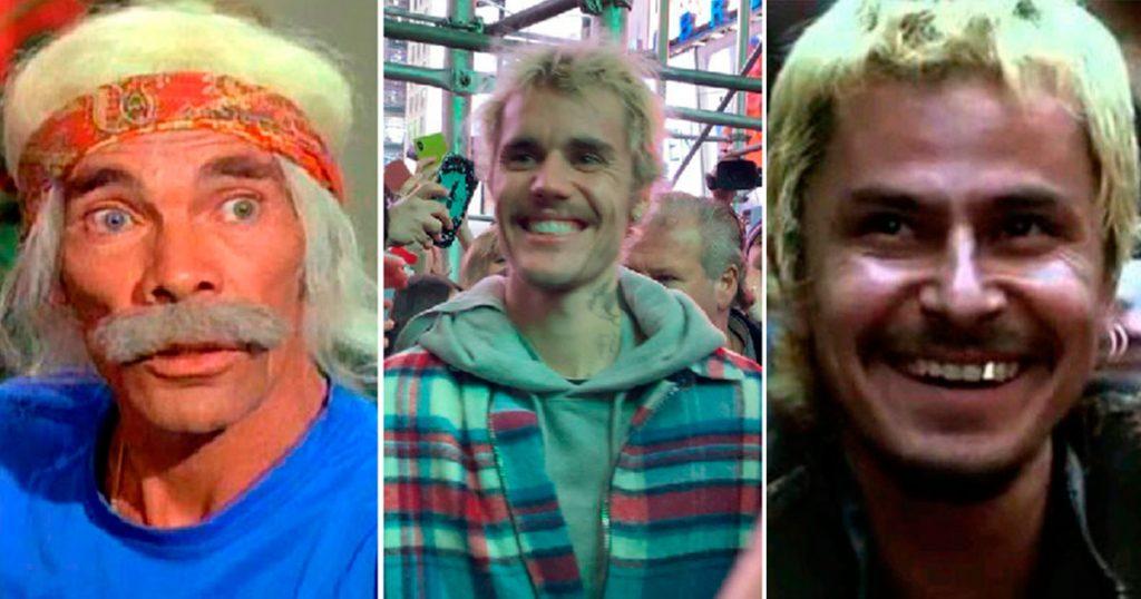 12 personas a las que se parece Justin Bieber con su nuevo look de vagabundo crikoso