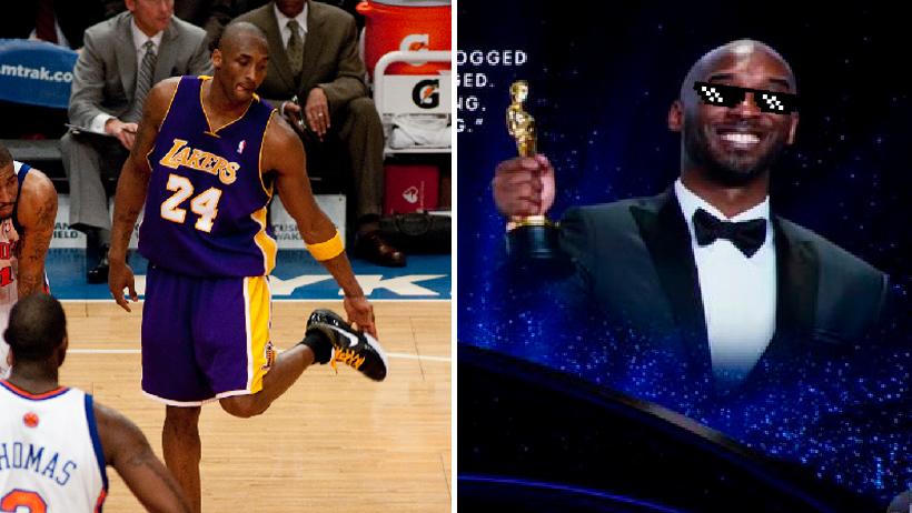 Kobe Bryant en los Oscars