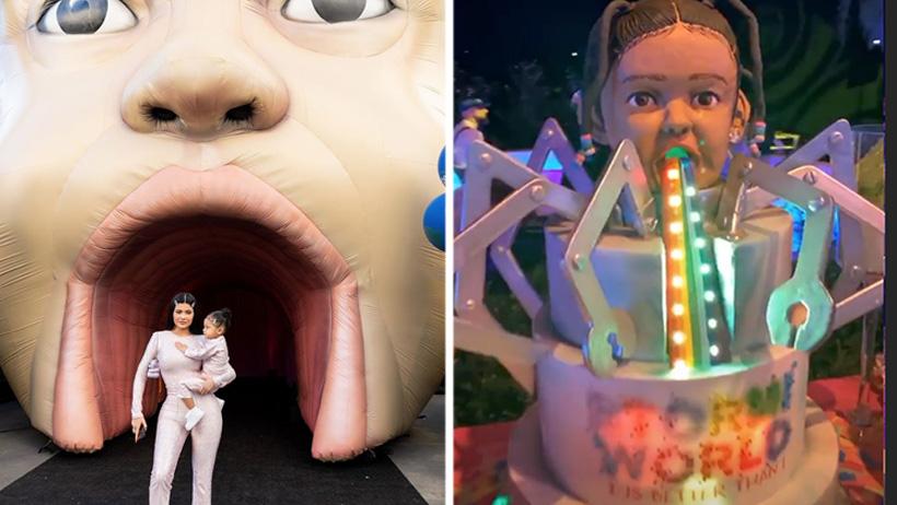 Típico que eres Kylie Jenner y haces una fiesta para niños de TERROR loco