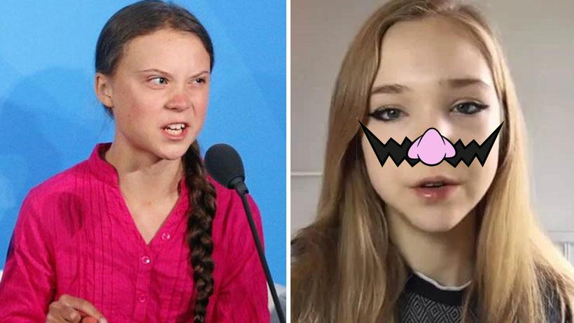 La anti-Greta Thunberg se une a la pelea