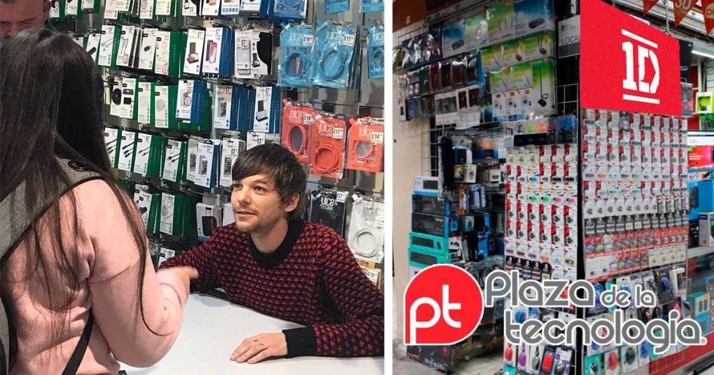 Louis Tomlinson de One Direction abre puesto en Plaza de Tecnología luego de fracaso como solista