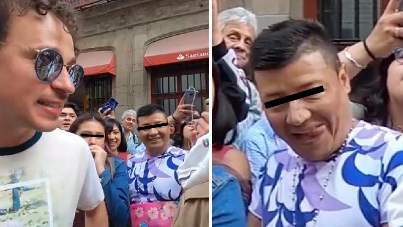 Luisito Comunica evidencía a hombre acosador.