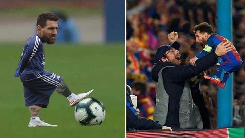 Messi enano es el mejor del mundo.