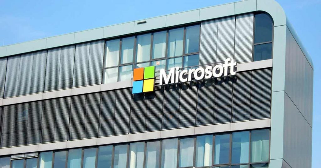 Microsoft inversión