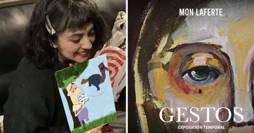 Ora resulta que Mon Laferte es pintora y hasta tendrá exposición en museo de la CDMX