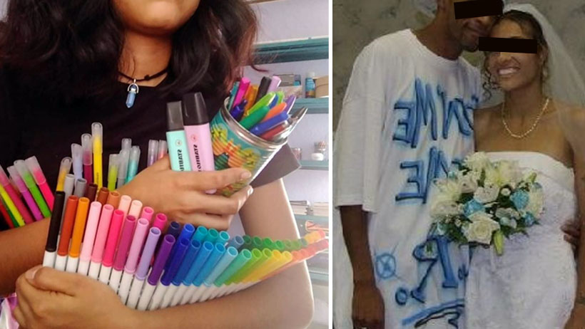 Morra de los plumones terminará casada con el wey que muerde los lápices: estudio