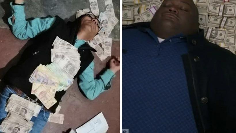 Primo del alcalde se baña en dinero
