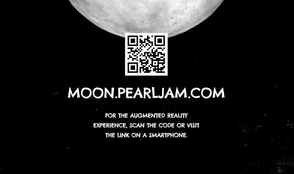 QR para escuchar canción de Pearl Jam