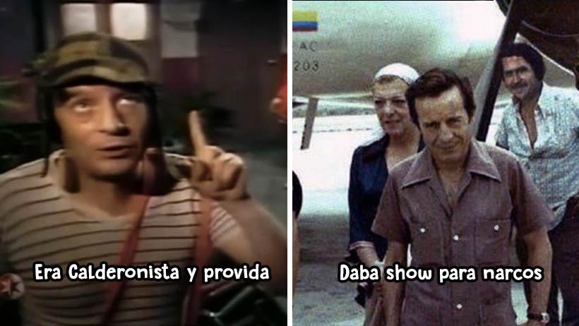 Roberto Gómez Bolaños momentos polémicos