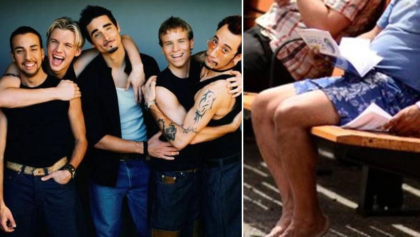 Descubren al único fan de los Backstreet Boys al que todavía no le duele la rodilla