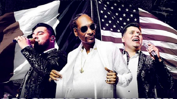 Ya es oficial: Snoop Dogg y la Banda MS tendrán concierto en conjunto con todo y mota