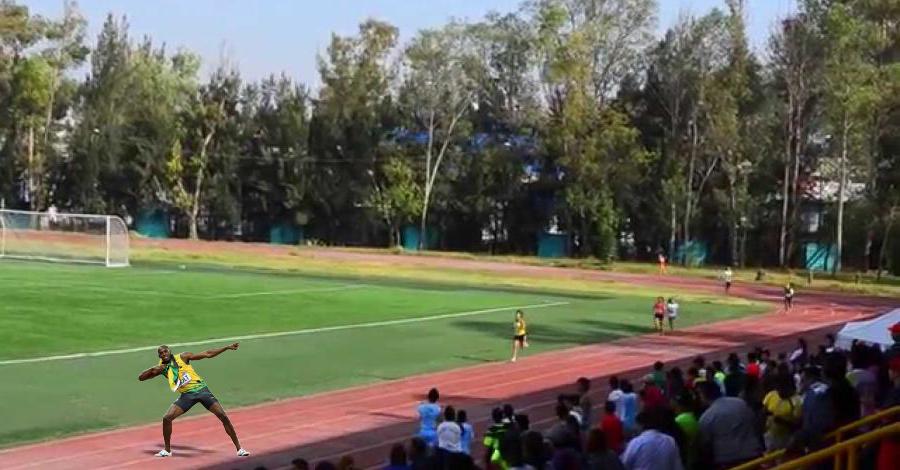 Usain Bolt Tokio 2020 Mexico