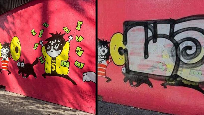 """Esto es todo lo que sabemos del """"Zombra"""", el vato que se cree el Banksy mexicano"""