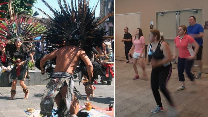 Antropólogos afirman que danzas prehispánicas eran el zumba de los aztecas