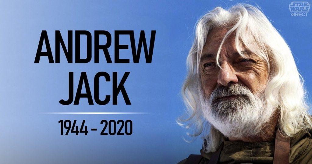 Muere Andrew Jack, actor de Star Wars por coronavirus