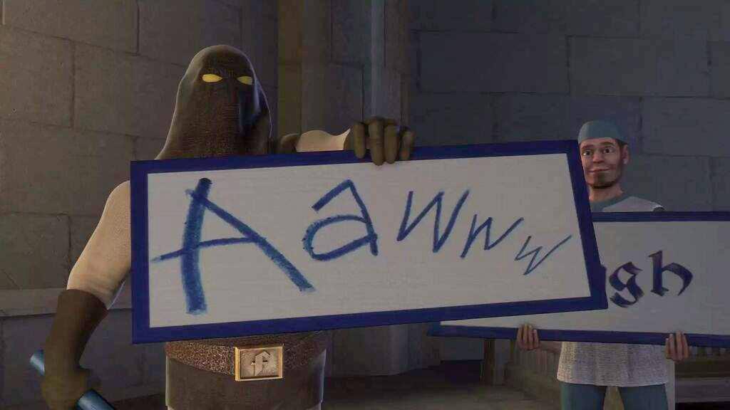 Awww Shrek