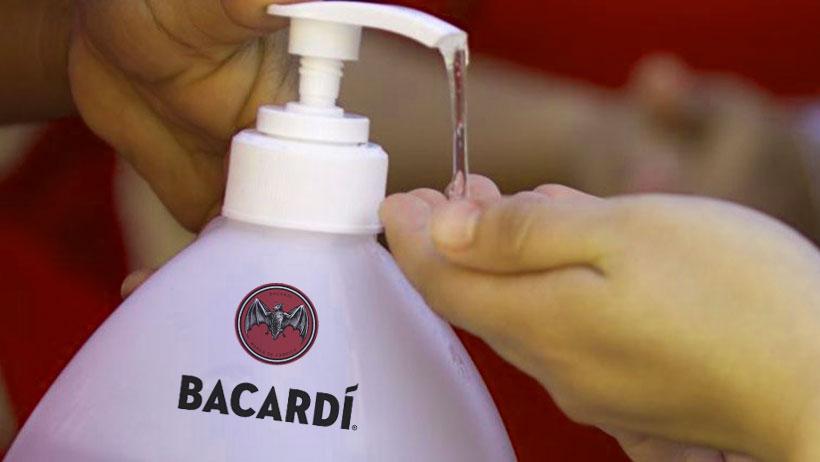 ¿Gel antibacterial sabor bacacho? Todo lo que sabemos sobre el nuevo gel de Bacardí