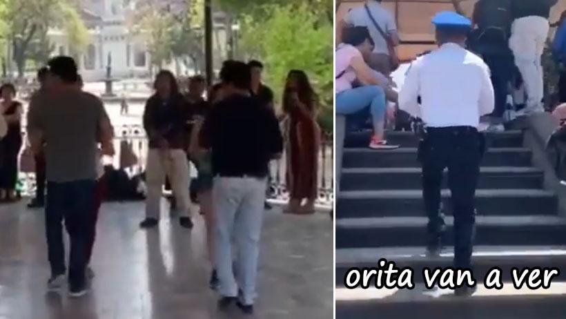 Policía detiene peligroso bailongo al aire libre por temor de Coronavirus