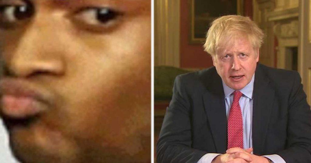 Tras diagnóstico, Doctor le recomienda a Boris Johnson quedarse en su casa y no salir nunca más