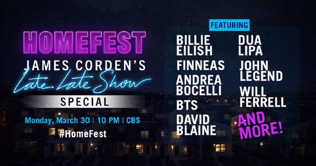 BTS dará MEGA concierto ONLINE junto a Billie Eilish en show de James Corden