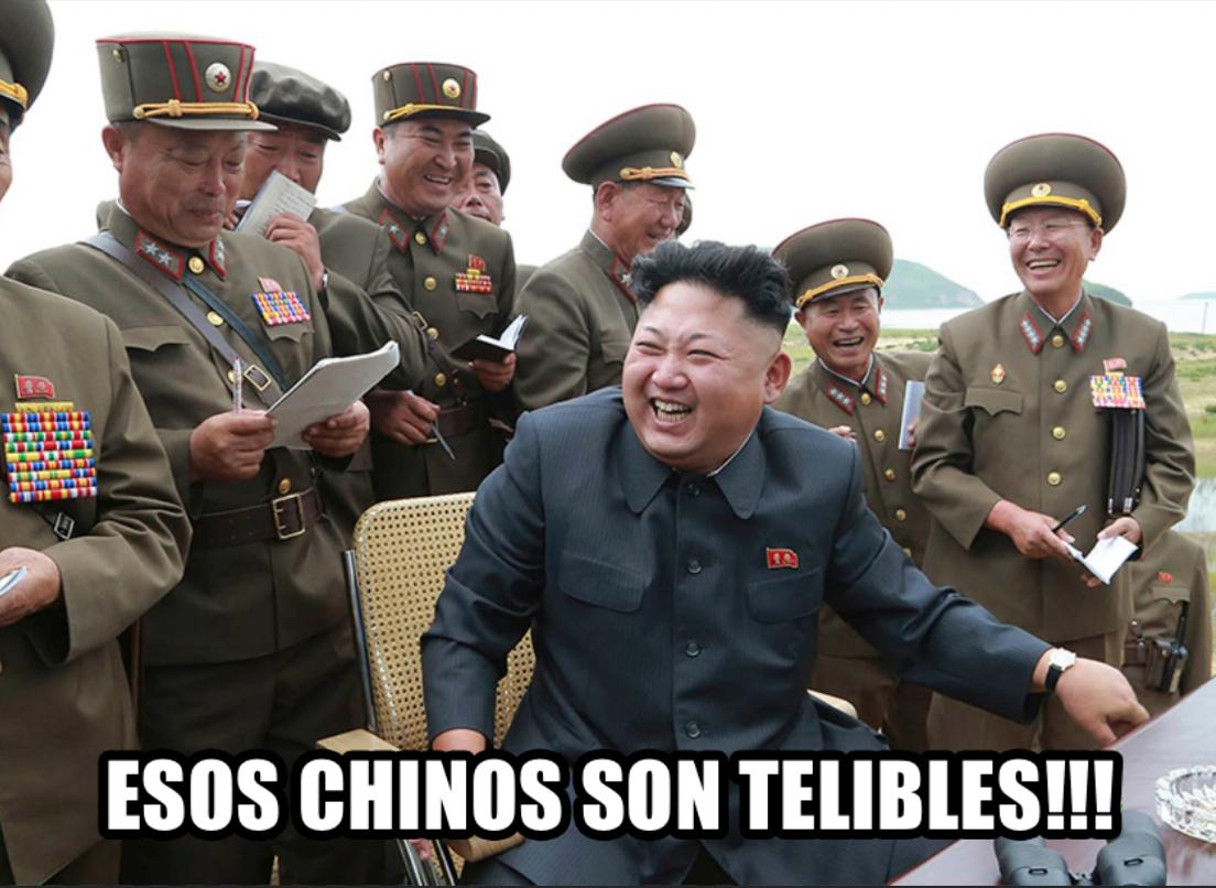 Esos chinos son telibles