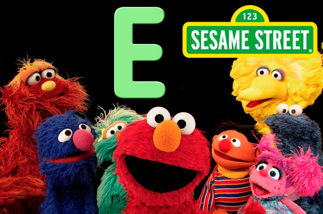 Sesame Street letter E