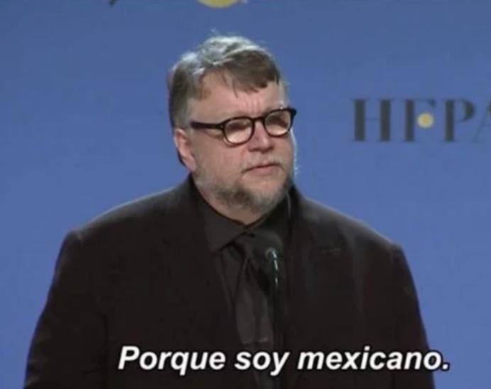 guillermo del toro porque soy mexicano