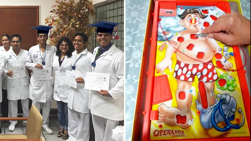Cover Alumnos de Medicina Operando Coronavirus Cuarentena