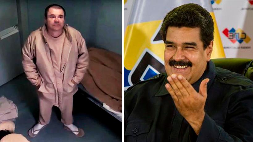 Cover Chapo Guzmán Nicolás Maduro