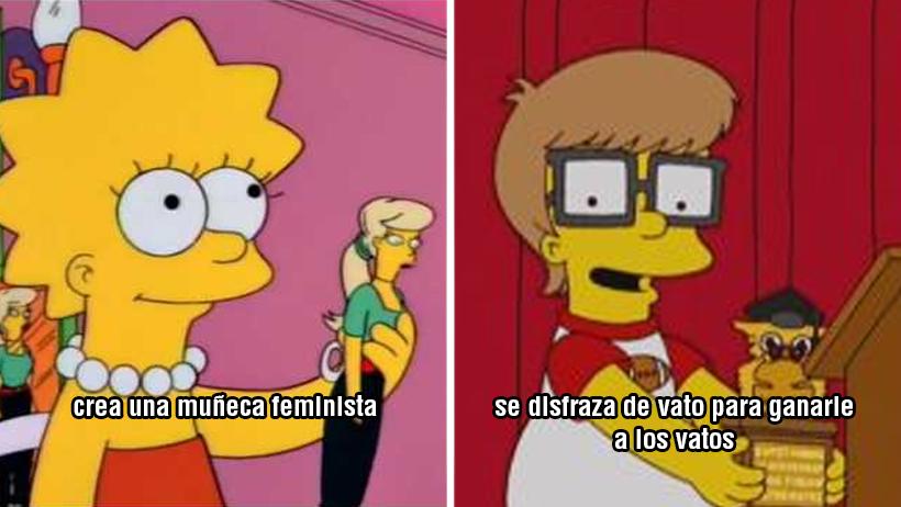 7 empoderados momentos en los que Lisa Simpson nos hizo decir ¡Eso, mamona!