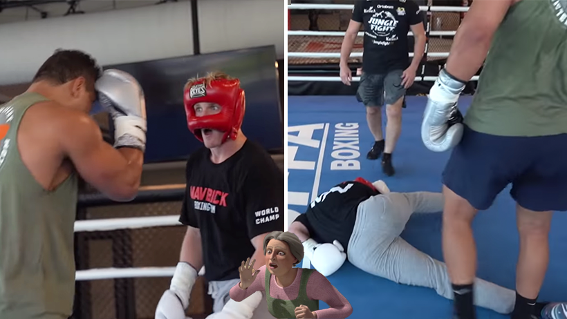 Cover Logan Paul Knock Out Paulo Acosta