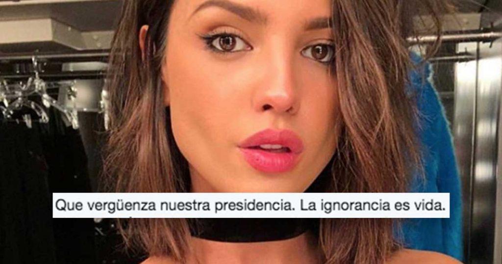 """Eiza González se fue contra AMLO y nosotros dijimos """"Lo que tú digas, Reyna"""""""