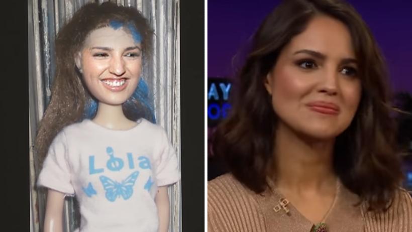 Que gachos nivel: gringos muestran muñeca de Eiza González antes de su cambio de look