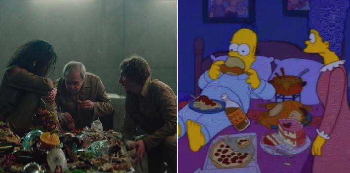 Te dejamos 11 coquetos memes de los Simpson para explicarte la película 'El Hoyo'