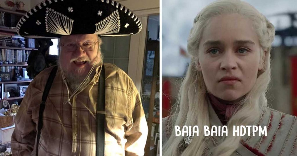 Cómo estará la cuarentena que el autor de Game of Thrones ya se sentó a escribir