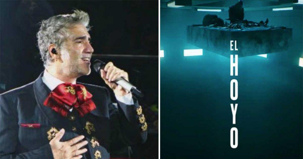 Alejandro Fernández confiesa que ya vio El Hoyo y dice que sí le gustó