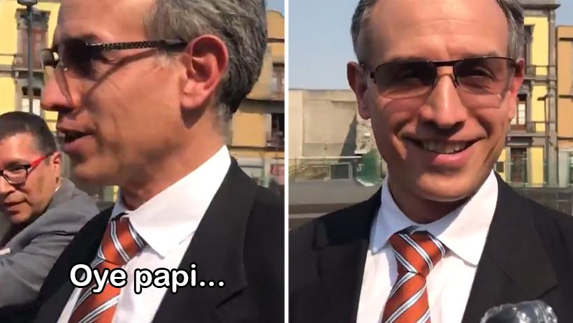 Momento exacto en el que alguien por fin le dice 'papi' a López-Gatell