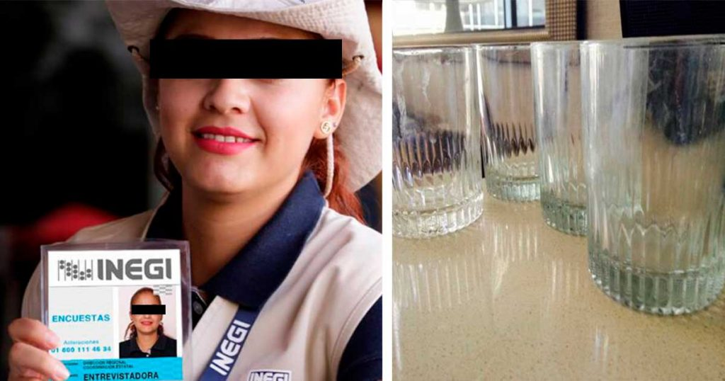 Encuestadores del INEGI preguntarán cuantos vasos sucios tienes en el cuarto