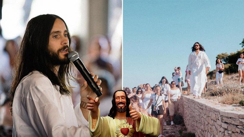 Jared Leto inicia culto religioso
