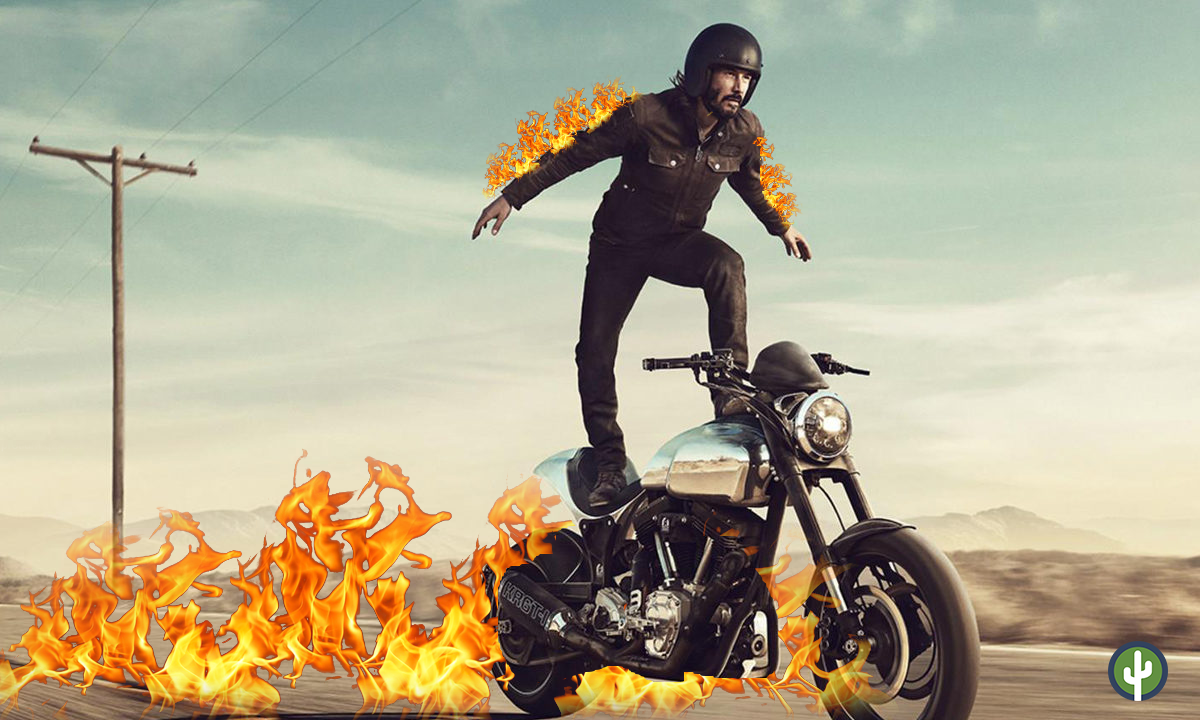 Keanu Reeves Ghost Rider