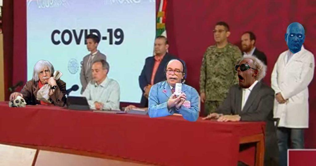 7 doctores convocados por López Gatell para salvar a México del Coronavirus