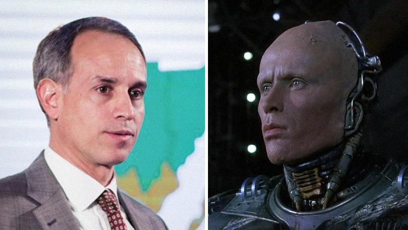 López-Gatell es RoboCop