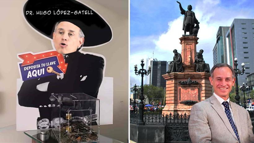 Estatua de López-Gatell