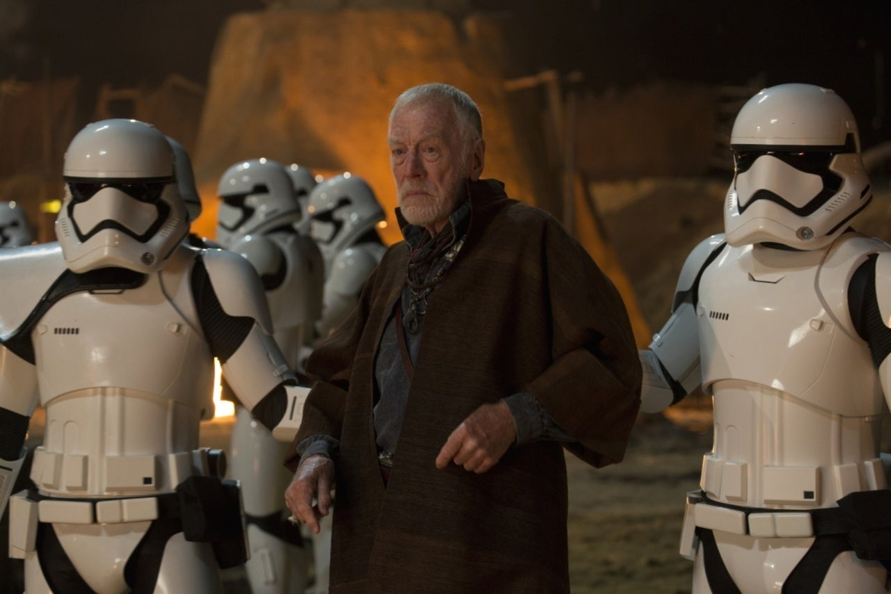 Max von Sydow Star Wars The Force Awakens