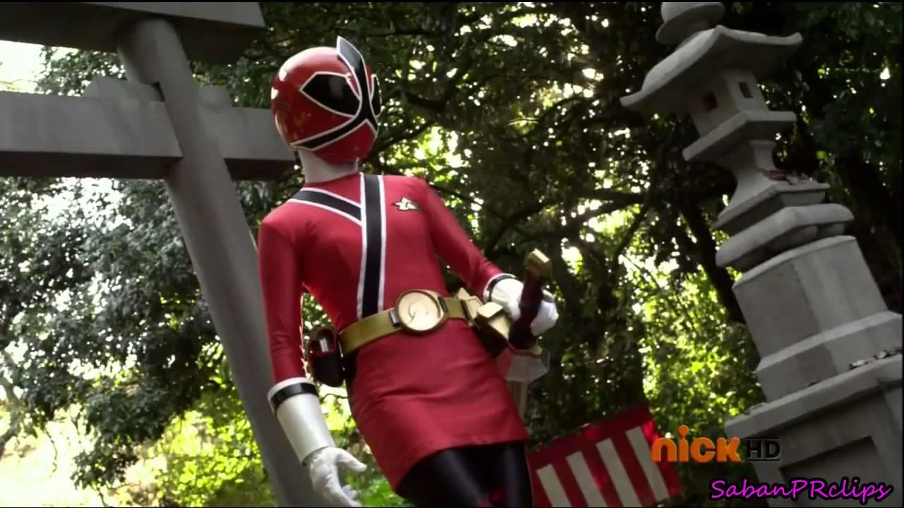 Red Ranger Samurai Lauren