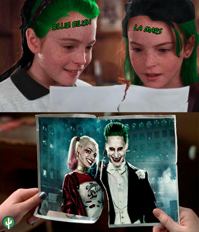 Meme La Mars Billie Eilish