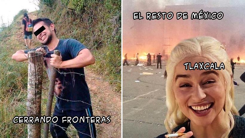 Memes de Tlaxcala sin coronavirus
